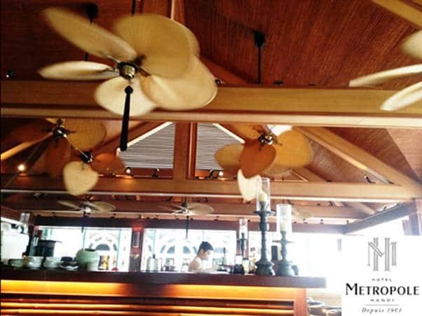Dự án lắp đặt quạt trần Fanimation The Islander tại Metropole Hà Nội 1